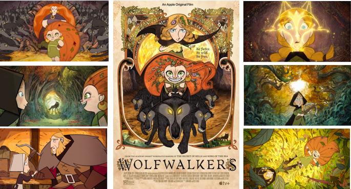 """WOLFWALKERS"""" GARNERS GKIDS"""