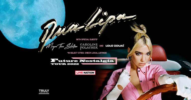 future nostalgia tour 2022 dua lipa