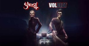 ghost and volbeat arena tour